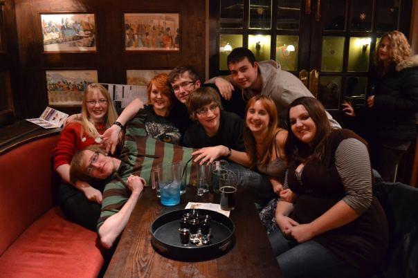 Friends at Lord John